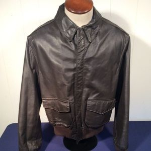 US Army Air Force type 2 leather flight jacket
